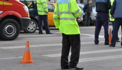 Accident violent în capitală: O femeie a fost lovită de un taxi pe trecerea de pietoni