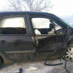 Foto: Accident cu trei victime și cu intervenția pompierilor pe traseul Chișinău – Orhei