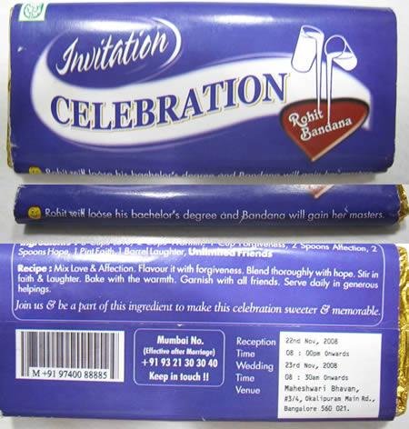 ciocolata invitatie