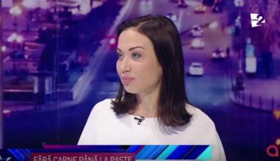 Galina Tomaș, despre alimentația în Postul Paștelui
