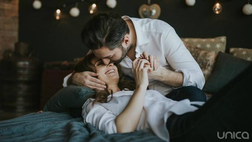 Foto: Adrian Ursu și Irina Negară într-un pictorial romantic de Dragobete