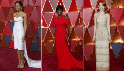 Pentru ce ținute au optat actorii la Premiile Oscar!