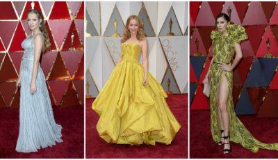 Cele mai prost îmbrăcate vedete de la Oscar 2017!