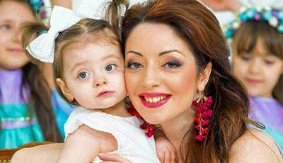 Fiica Marianei Șura împlinește 3 anișori! E fată mare!