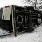 Foto: Accident grav în Ucraina. Sunt implicate două autobuze cu pasageri moldoveni