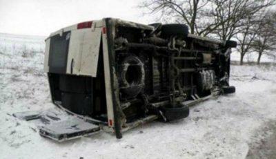 Accident grav în Ucraina. Sunt implicate două autobuze cu pasageri moldoveni