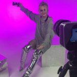 Foto: Alexandra Druc se lansează ca interpretă solo. Vezi imagini exclusive de la filmările primului videoclip
