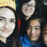 Foto: Experiențele Cristinei Veverița, eleva din Moldova care predă limba engleză în China!