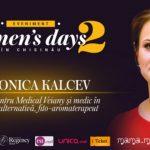 Foto: Veronica Kalcev ne va explica cum remediile naturiste ne pot prelungi feminitatea la Woman's days in Chisinau