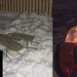 Foto: Fetița de 6 ani din Hâncești, lovită de o mașină la săniuș, a murit!