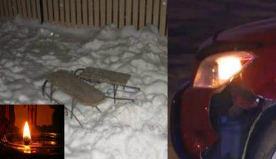 Fetița de 6 ani din Hâncești, lovită de o mașină la săniuș, a murit!