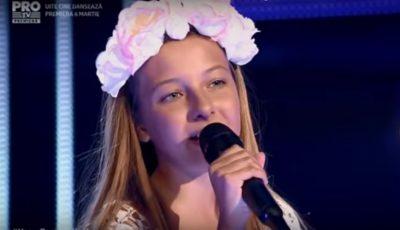 """O fetiță din Chișinău a impresionat juriul de la ,,Vocea României Junior 2017"""""""