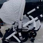 Foto: Atenție, părinți! Au furat căruciorul unui micuț, chiar din scara blocului