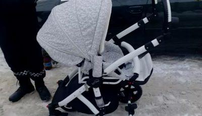 Atenție, părinți! Au furat căruciorul unui micuț, chiar din scara blocului