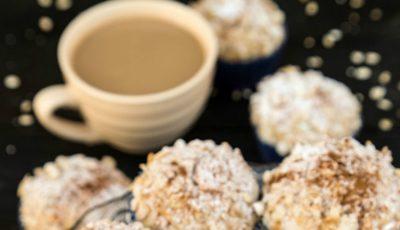 Muffins de post cu ovăz și cafea
