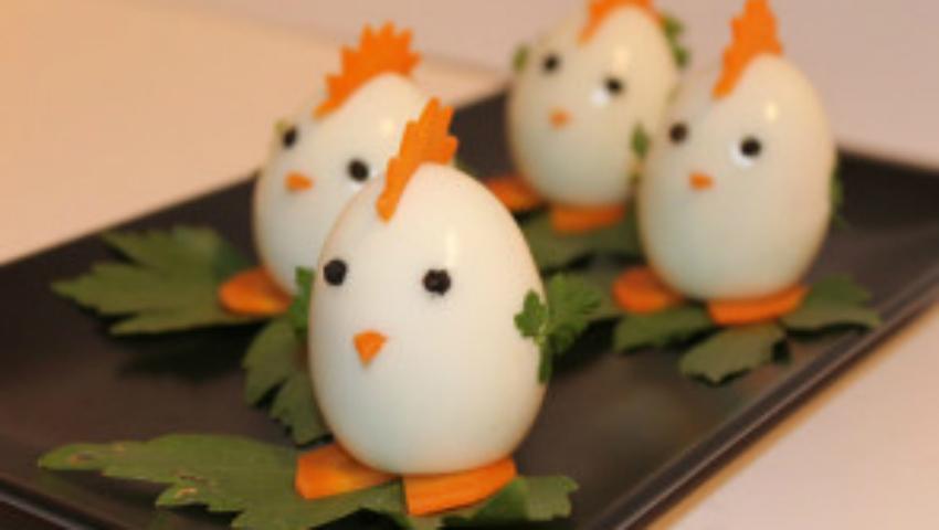 """Foto: """"Găinușă din ou"""". Rețeta cu care poți convinge un copil mofturos să mănânce ouă"""