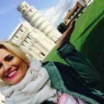 Foto: Dianna Rotaru se bucură de vacanță! Vezi VIDEO cu artista lângă Turnul înclinat din Pisa