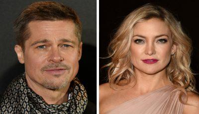 Brad Pitt şi Kate Hudson sunt împreună