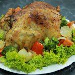Foto: Pui suculent cu legume la cuptor de la nutriționista Galina Tomaș
