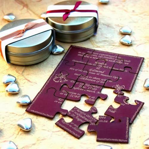 puzzle invitatie