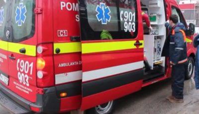 Video! Un bebeluș de doar trei zile, transportat la Institutul Mamei și Copilului cu un echipaj SMURD