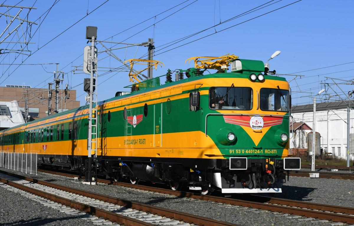 tren Romania