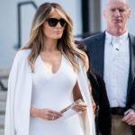 Foto: Melania Trump, o Primă Doamnă cu stil! Cum a apărut îmbrăcată la două evenimente oficiale
