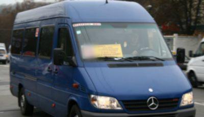 Atenție! O rută de microbuz din Capitală a fost anulată