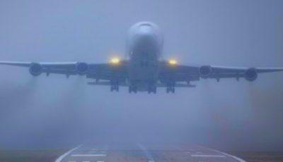 Probleme pe aeroport. Avioanele nu pot ateriza