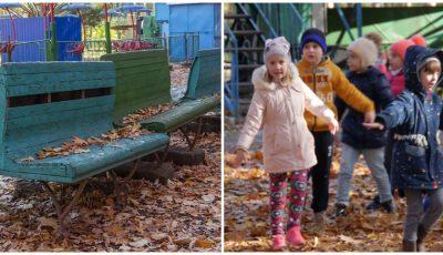 Locuitorii orașului Ungheni își doresc un parc modern pentru copii. Contribuie și tu la realizarea proiectului!