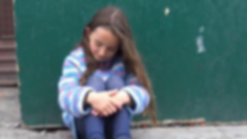 Foto: O fetiță de 5 ani s-a pierdut pe străzile Capitalei. Unde se aflau părinții săi?
