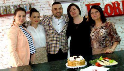 Igor Sîrbu a gătit în bucătăria noastră împreună cu mama, surorile și nepoata