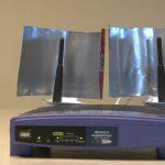 Foto: Idee ingenioasă de a crește puterea semnalului WiFi