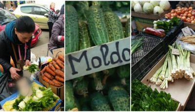 În piețele din Capitală au apărut primele legume de producție autohtonă. Vezi ce prețuri afișează comercianții