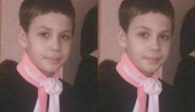 Alertă! Un copil de 11 ani a dispărut fără urmă. Poliția cere ajutorul cetățenilor