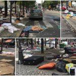 Foto: Paris: cum arată orașul după ce a fost luat cu asalt de refugiați. Poze