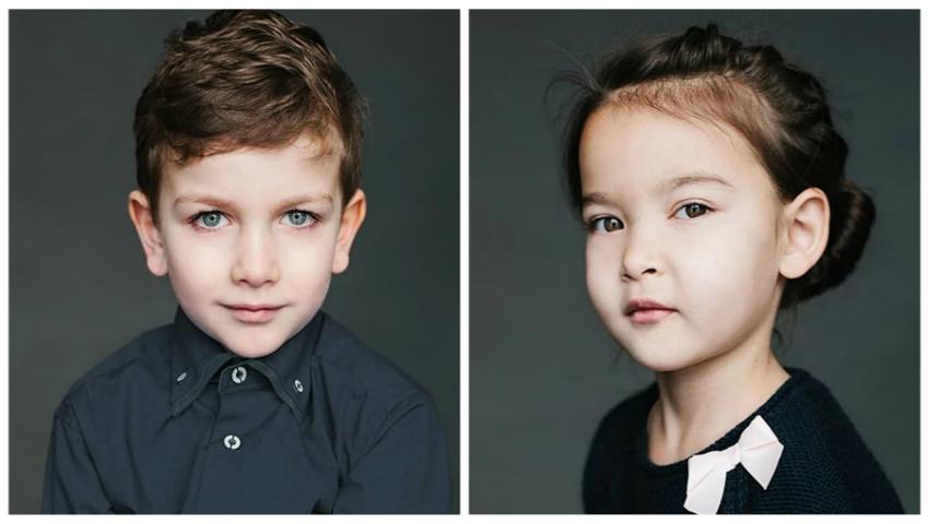 Proiect foto! Cum arată copiii cu părinți de naționalități diferite