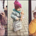 Foto: O fetiță de un an și 7 luni din Chișinău cucerește internauții cu ținutele sale!