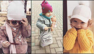 O fetiță de un an și 7 luni din Chișinău cucerește internauții cu ținutele sale!