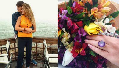 Olia Stepanenco, cerută în căsătorie! Iată cât valorează inelul de logodnă