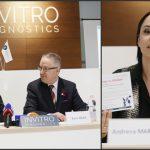 """Foto: Lansarea inițiativei ,,Dăruiește sănătate"""", alături de Andreea Marin, la """"Invitro Diagnostics""""!"""