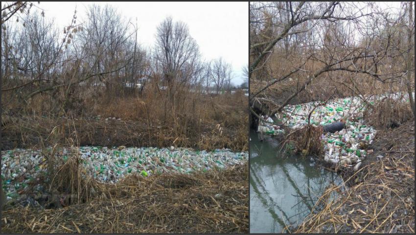 Foto: Imagini de groază! Așa arată râul Bîc