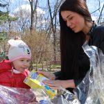 Foto: Cu ce gustoşenii îşi bucură Irina Tarasiuc cei doi copii