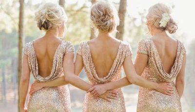 Idei de rochii lungi pentru domnişoarele de onoare