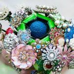 Foto: Cele mai frumoase buchete de mireasă din bijuterii