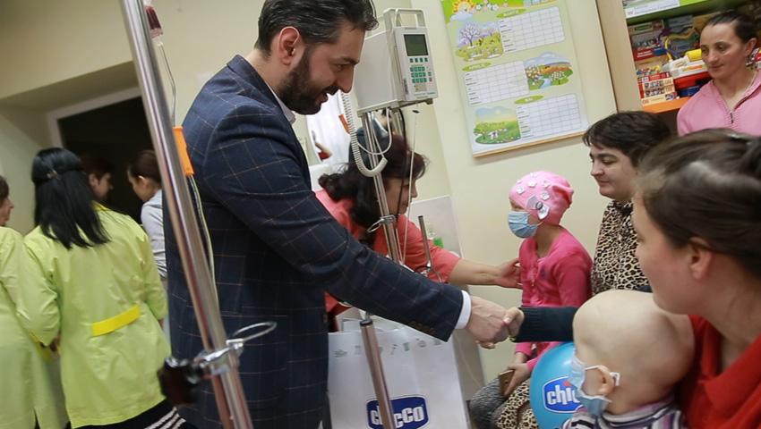 O surpriză frumoasă pentru copiii bolnavi de cancer