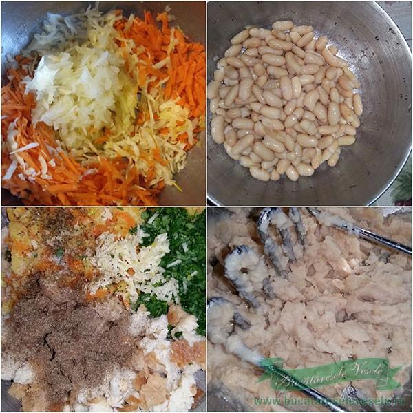 chiftele-de-fasole-preparare