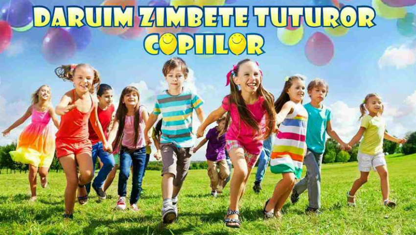 Foto: Pe 1 aprilie, vino să susții copiii care suferă de leucemie!