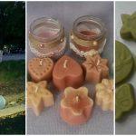Foto: Zina Marian face săpunuri artizanale, bile efervescente, lumânări din ceară de soia și alte produse naturiste