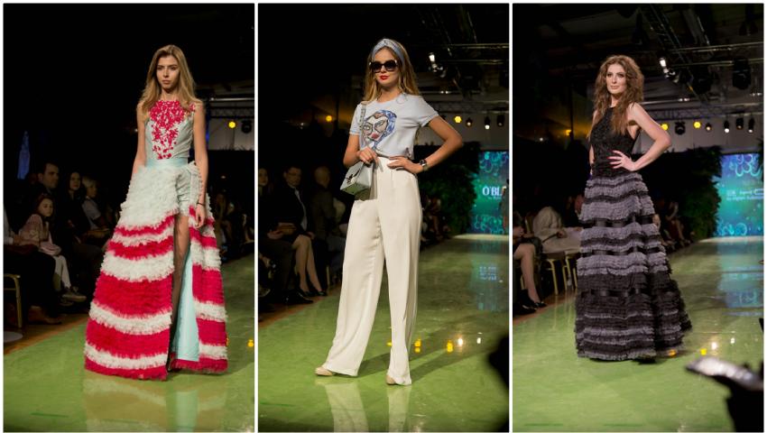 Foto: Moldova Fashion Days poate concura cu show-urile de modă internaționale. Cum a fost cea de-a doua zi a evenimetului!